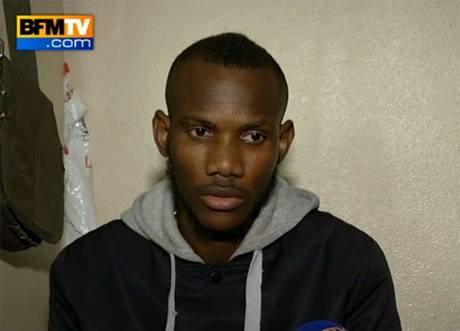 Paris hero: Lassana Bathily
