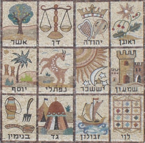 Mosaic_Tribes [the 12 tribes of Israel]