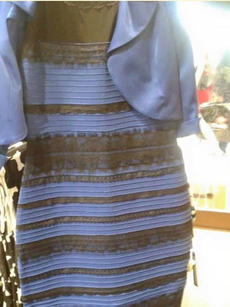 Most people see the dress as either blue and black or gold and white