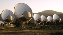 Seti listens out for signals using its own radio telescope array at Hat Creek in California