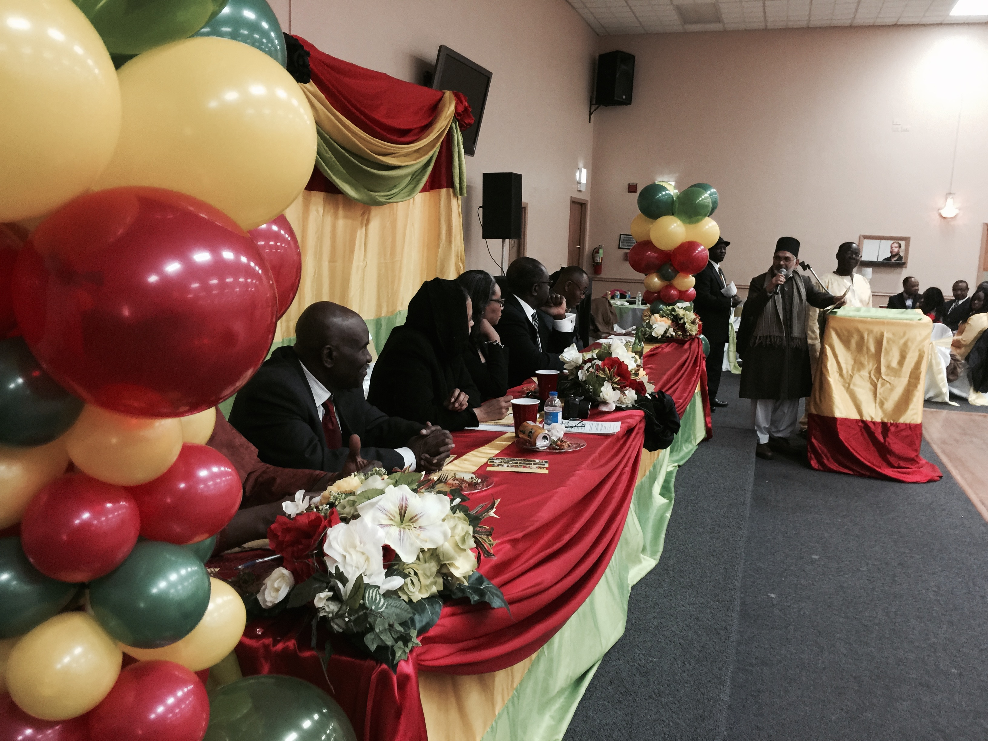 Ghana national council of chicago - People Standing Up Respecting The National Anthem Of Ghana