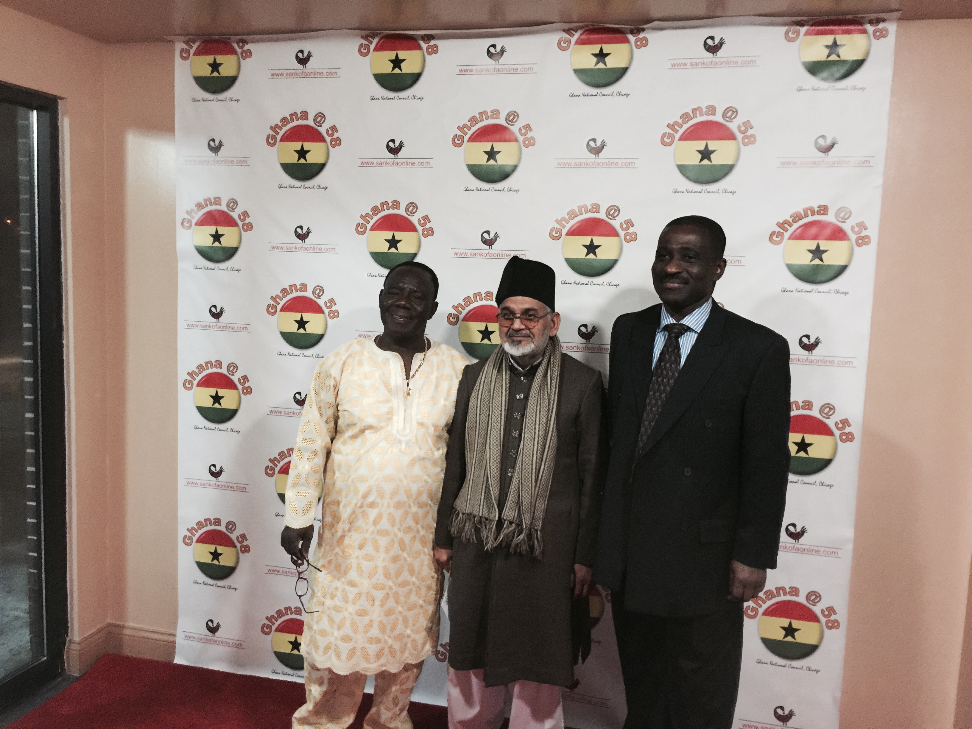 Ghana national council of chicago - Photos The President R And General Secretary L Of Ghana National