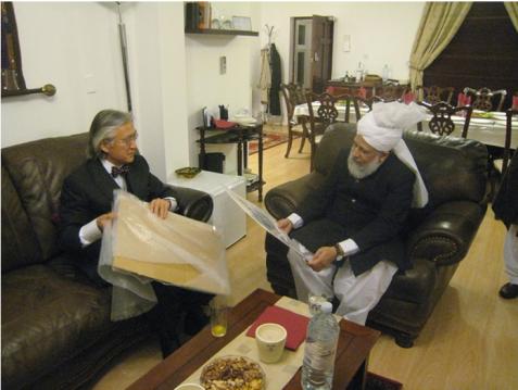 Hazrat Mirza Masroor Ahmad Sahib`s historical visit to Japan (2006)