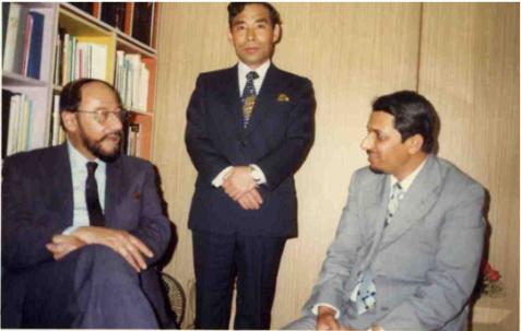 Sahibzada Mirza Mubarak Ahmad Sahib in Japan