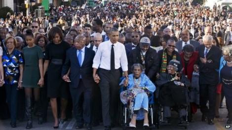 selma and obama