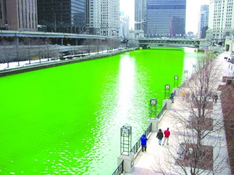 st. patrick and river