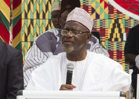 Alhaji Mulvi Mohammed Bin Salih, Ameer of Ahmadiyya Muslim Mission in Ghana