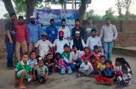 India: Jama'at-e-Ahmadiyya organizes Free Medical Camp In Baga village, Punjab