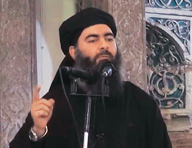 Islamic State (IS) chief Abu Bakr al-Baghdadi