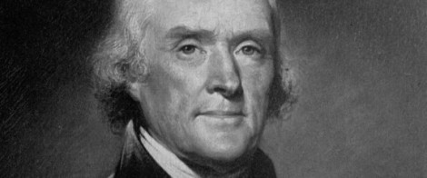 Third U.S. President Thomas Jefferson is seen in this undated portrait. The original portrait by Rembrandt Peale hangs in the Blue Room of the White House. (AP Photo) | ASSOCIATED PRESS