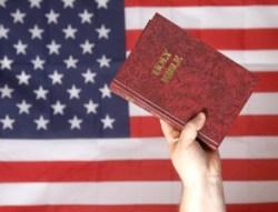 flag-and-bible