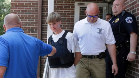 Dylann Roof, accused of murdering nine people at an African-American church in Charleston, S.C., appears in court via video on June 19, 2015. Acts like those he's charged with are terrorism and ought to be called that. (Charleston, S.C., bond court)
