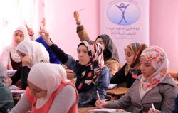 Young Syrian Refugees preparing for University Entrance examination in Amman, Jordan