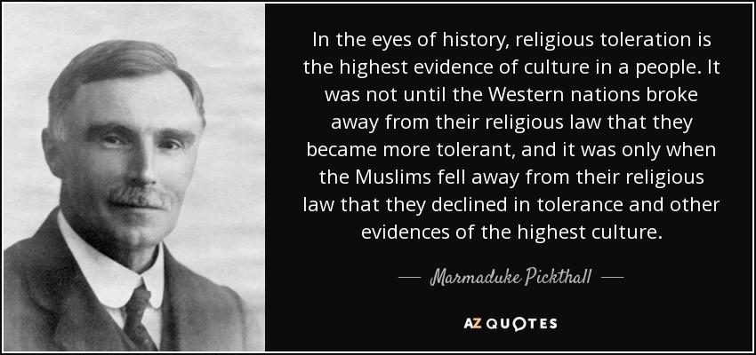 islamic culture essay by marmaduke pickthall summary