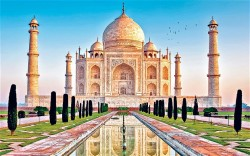 Taj Mahal is not only a symbol for India but also for Muslim Heritage