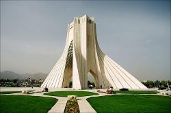 Azaadi Tower in Tehran, Iran