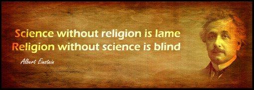 einstein on science and religion