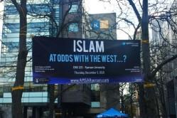 USA: Ryerson Ahmadiyya Muslim Students Association's banner taken down... again?