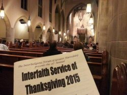 USA: Many faiths share common message of Thanksgiving