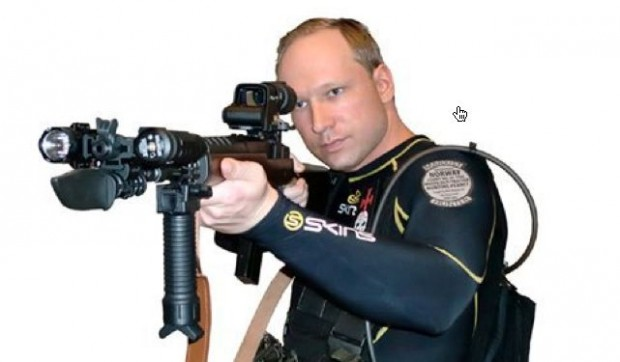 A terrorist from Norway: Anders-Behrin-Breivik