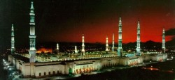 Mosque of Medina, first built by the Prophet Muhammad himself