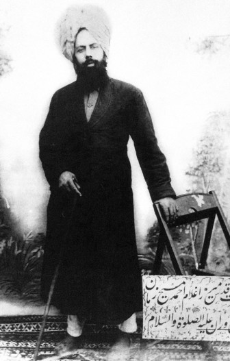 His Holiness Mirza Ghulam Ahmad, the Messiah & Mahdi of Muslims and the Promised Messiah of all religions.