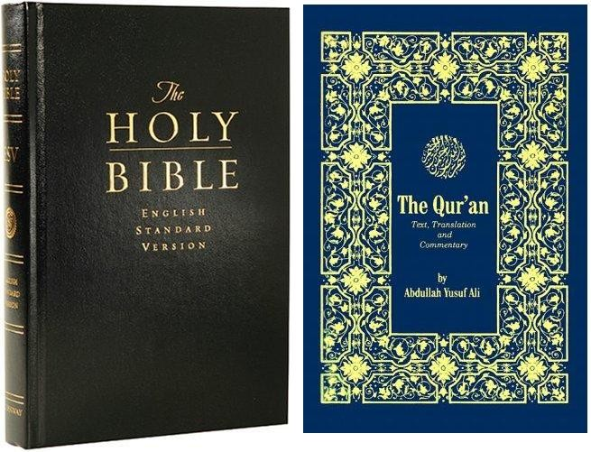 bible and quran