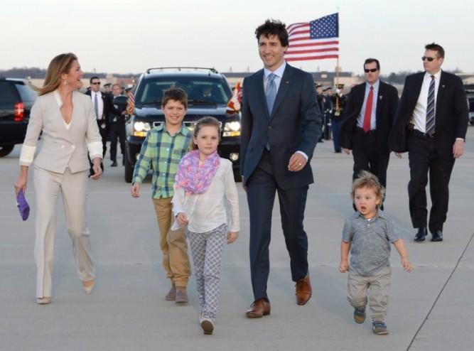 trudeau-usa-family