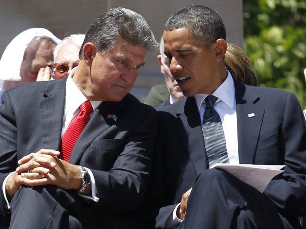 Barack Obama, Joe Manchin