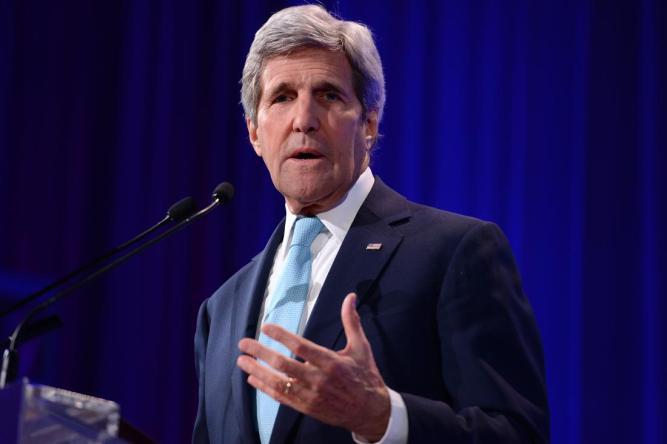 NY: U.S. Secretary of State John Kerry Speaks Bloomberg's Global Energy Summit