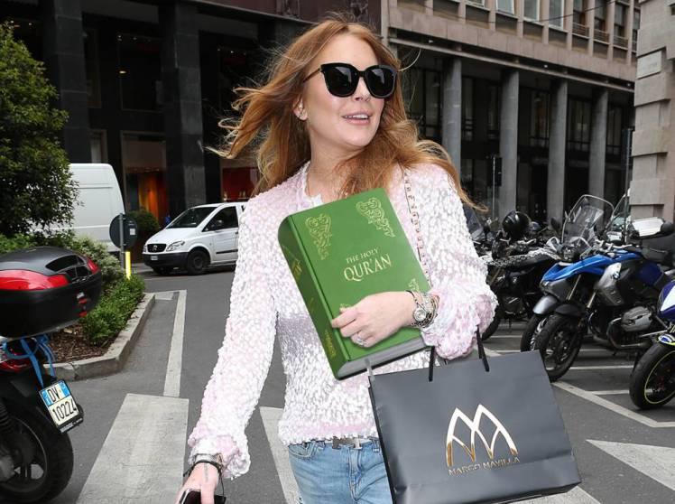 Lindsay Lohan is consi... Lindsay Lohan Islam