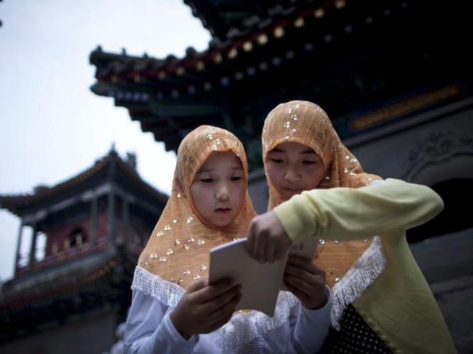 china-muslim girls