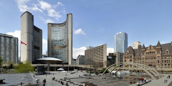 Nathon Philip square Toronto