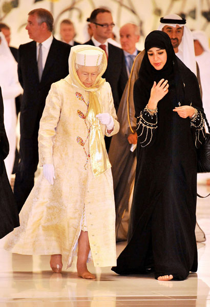 Is Queen Elizabeth from the lineage of the Spanish-Muslim