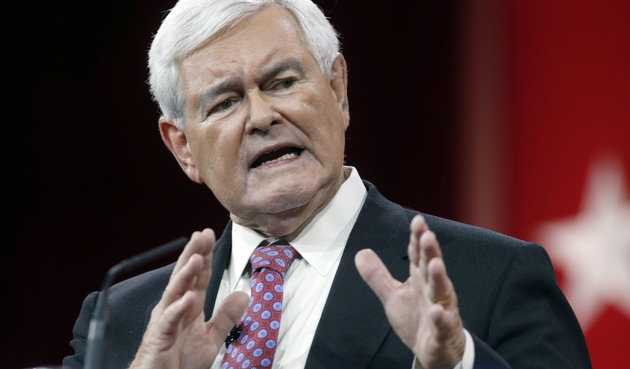 Gingrich speaks at the CPAC in Maryland