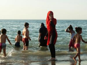 Women in France face fines for wearing burkinis AFP/Getty