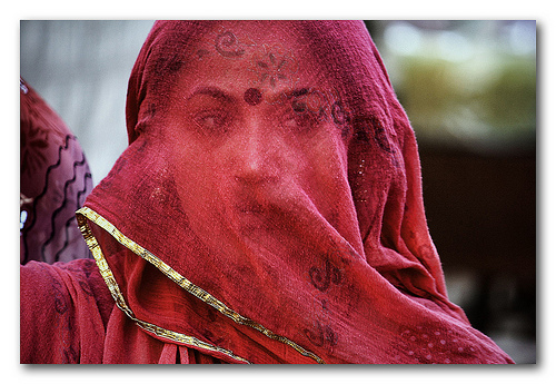 Image result for indian women with purdah