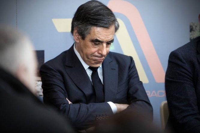 Former French Prime Minister & Candidate For 'Les Republicains', Francois Fillon Visits Charleville-Mezieres