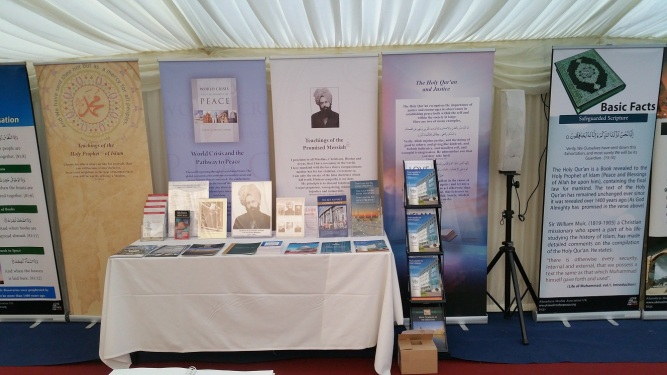 Pictures from The Holy Quran Exhibition at Ahmadiyya Muslim's Bait-ul-Futuh Mosque in London held on 25th March 2017-1