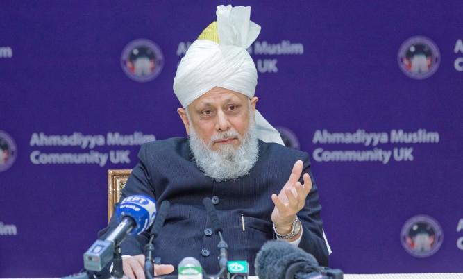 Head of the Ahmadiyya Muslim Community - His Holiness Mirza Masroor Ahmad (aba)