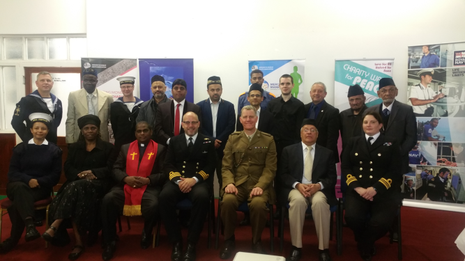 1Group photo joined by Royal Navy and Army officers1Group photo joined by Royal Navy and Army officers