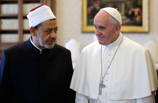 Ahmed el-Tayeb and pope