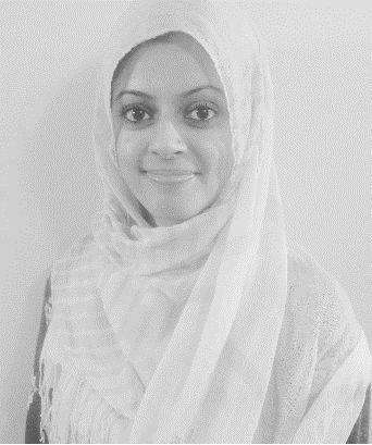 Farah Ahmad, a member of the Kincardine Ahmadi Muslim community.