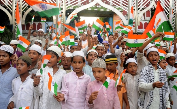 Indian Muslim boys