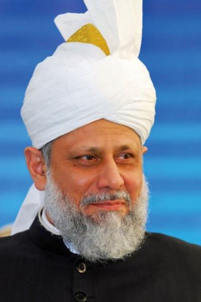 His Holiness, Hazrat Mirza Masroor Ahmad, Head of Worldwide Ahmadiyya Mulsim Community