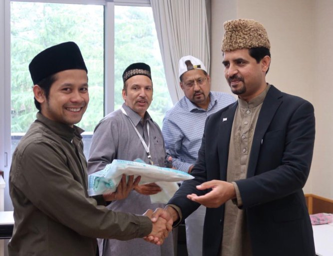 Jap1 37th Annual Ijtima of Ahmadiyya Auxiliary Organizations Japan held at National Chuo Youth Friendship Center Gotemba (7,8 October 2017)