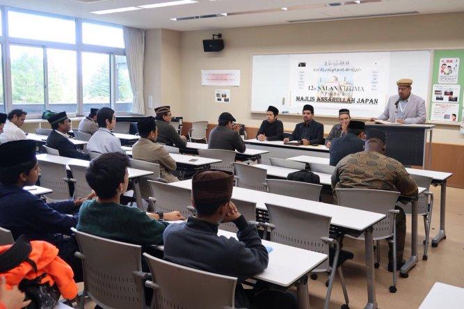 37th National Ijtema of Majlis Ansarullah (Ahmadiyya Muslim Community) at National Youth Friendship Center Gotemba