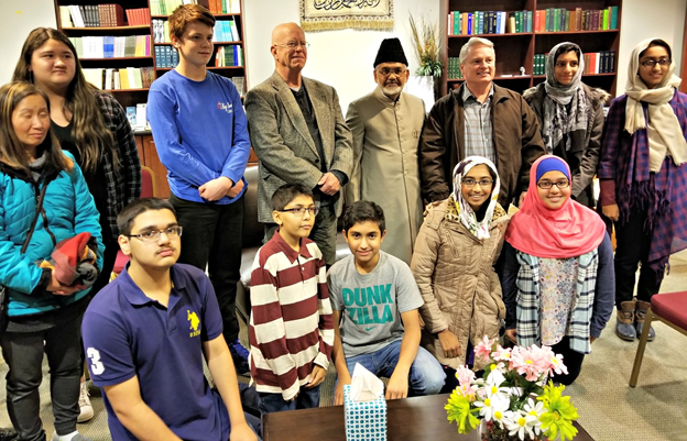 USA: Big Beaver Methodist Church's Children Group Visit Ahmadiyya Muslim's Mahmood Mosque in Detroit