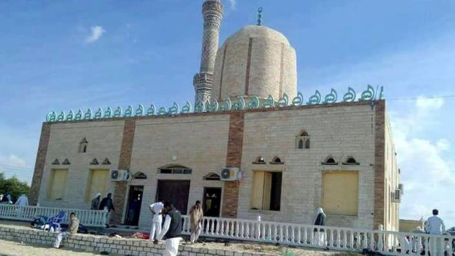 Mosque in Sinai