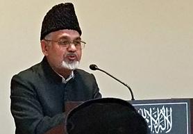 Imam Shamshad Nasir of the Ahmadiyya Muslim Community